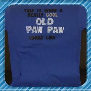 Gildan Shirts - Blue Paw Paw Tshirt
